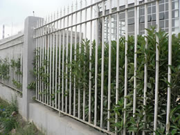 Galvanized Tubular Steel Fencing Pusheng Steel Fencing