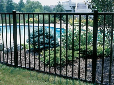 Ornamental steel fencing pusheng steel fencing industrial co - Aluminum vs steel fencing ...