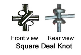 Square Knot High Tensile Fence
