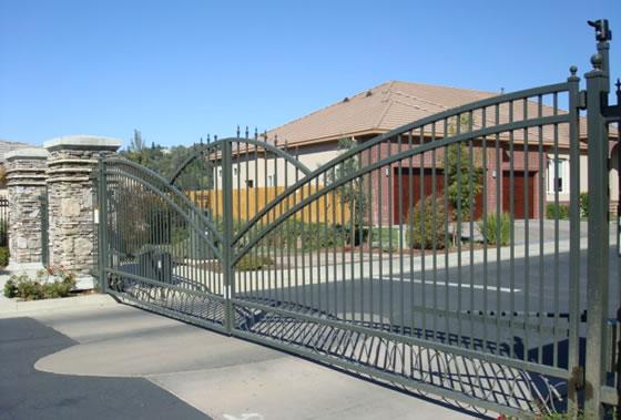 Steel Fencing Gates Pusheng Steel Fencing Industrial Co