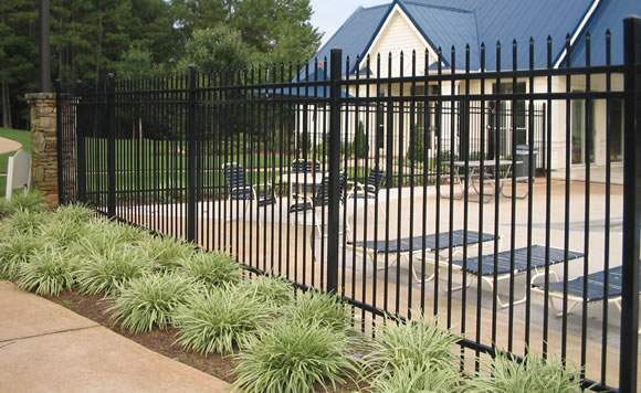 Steel Picket Fencing Pusheng Steel Fencing Industrial Co
