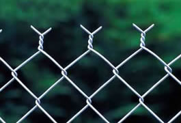Chain Link Fence Aluminum Coated Steel Fences With
